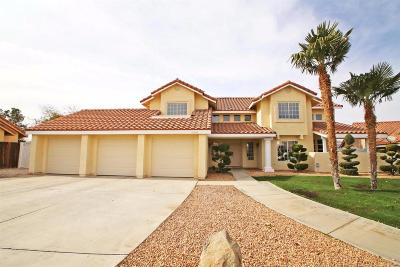 Apple Valley Single Family Home For Sale: 12264 Mockingbird Place