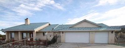 Pinon Hills Single Family Home For Sale: 323 Juniper Road