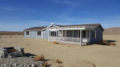 Lucerne Valley Single Family Home For Sale: 30120 Desert View Road