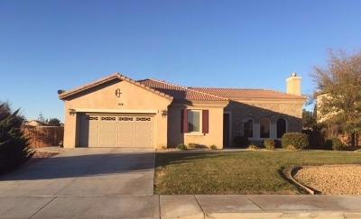 Apple Valley Single Family Home For Sale: 19134 La Quinta Place