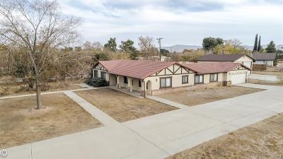 Apple Valley CA Single Family Home For Sale: $335,000