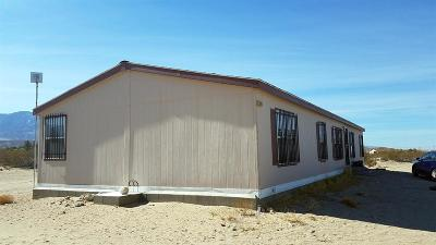 Lucerne Valley Single Family Home For Sale: 36349 Sutter Avenue
