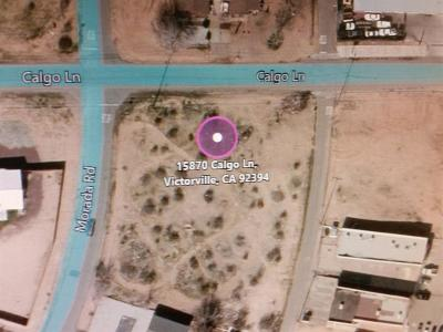 Victorville Residential Lots & Land For Sale: NW Calgo Lane N