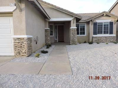 Adelanto Single Family Home For Sale: 11776 Cliffrose Court