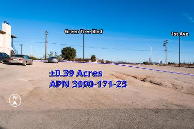 Victorville Residential Lots & Land For Sale: Green Tree Boulevard