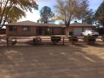 Hesperia Single Family Home For Sale: 15277 Orange Street