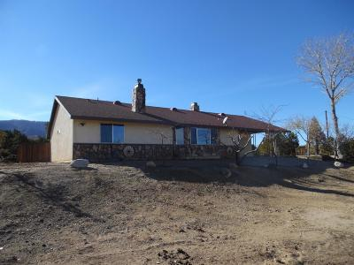 Pinon Hills Single Family Home For Sale: 8970 Silver Rock Road