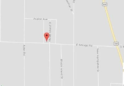 Adelanto Residential Lots & Land For Sale: El Mirage Road