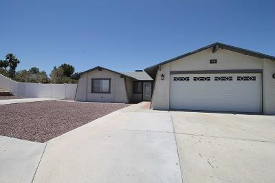 Barstow Single Family Home For Sale: 2070 Ruby Drive