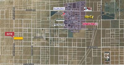 Adelanto Commercial Lots & Land For Sale: Poppy Road
