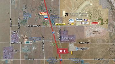 Adelanto Commercial Lots & Land For Sale: Cassia Road