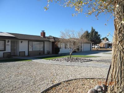 Apple Valley Single Family Home For Sale: 21311 Rancherias Road
