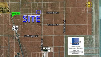 Adelanto Commercial Lots & Land For Sale: Nichols Road
