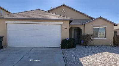 Victorville Single Family Home For Sale: 11961 Luna Road