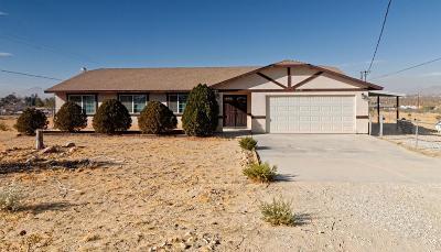 Apple Valley Single Family Home For Sale: 15528 Sherri Lane