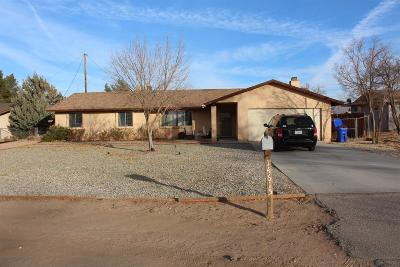 Apple Valley CA Single Family Home For Sale: $189,000