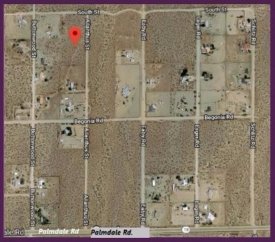 Phelan Residential Lots & Land For Sale: Ailanthus Road