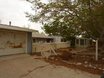 Lucerne Valley Single Family Home For Sale: 38484 Foothill Road