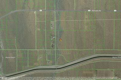 Pinon Hills Residential Lots & Land For Sale: Dos Palmas Road