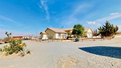 Pinon Hills Single Family Home For Sale: 1870 Olivera Road