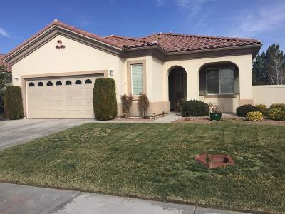 Apple Valley CA Single Family Home For Sale: $270,000