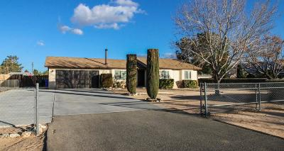 Apple Valley CA Single Family Home For Sale: $205,000