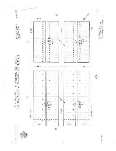 Hesperia Residential Lots & Land For Sale: 2nd Avenue