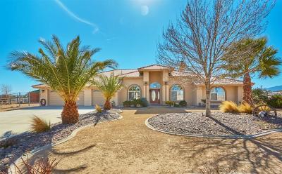 Oak Hills CA Single Family Home For Sale: $549,000