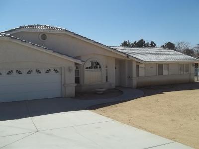 Apple Valley Single Family Home For Sale: 18645 Seneca Road