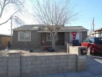 Barstow Single Family Home For Sale: 1560 Nancy Street