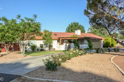 Apple Valley Single Family Home For Sale: 13435 Tioga Road