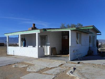 Lucerne Valley Single Family Home For Sale: 14332 Fairlane Road