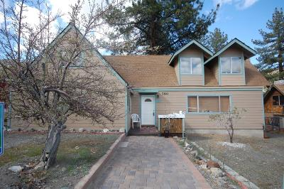 Wrightwood Single Family Home For Sale: 790 Mountain View Avenue