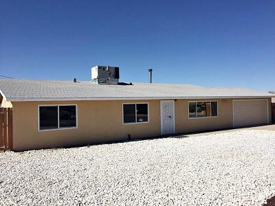 Barstow Single Family Home For Sale: 34742 G Street