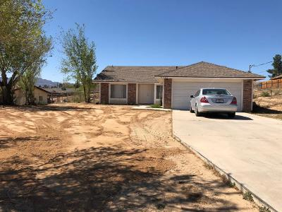 Hesperia Single Family Home For Sale: 18595 Juniper Street