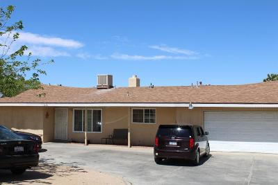 Hesperia Single Family Home For Sale: 17456 Laurel Street