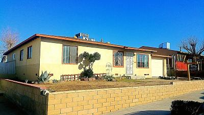 Barstow Single Family Home For Sale: 611 Kathleen Drive