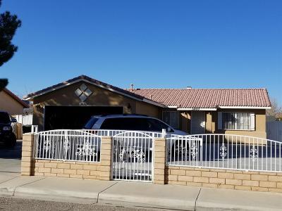 Adelanto Single Family Home For Sale: 11400 Star Street