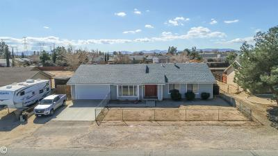 Hesperia Single Family Home For Sale: 13583 Avenal Street