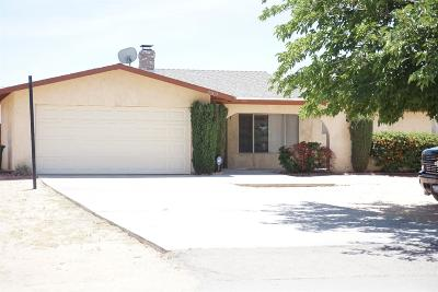 Apple Valley Single Family Home For Sale: 20825 Teton Road