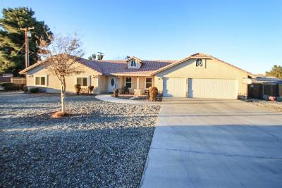 Apple Valley Single Family Home For Sale: 19848 Red Feather Road