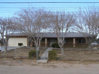 Hesperia Single Family Home For Sale: 17810 Chestnut Street