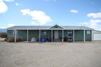 Pinon Hills Single Family Home For Sale: 13222 Primavera Road