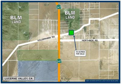 Lucerne Valley Residential Lots & Land For Sale: Wilderness Road