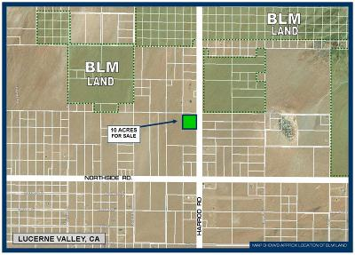 Lucerne Valley Residential Lots & Land For Sale: Harrod Road