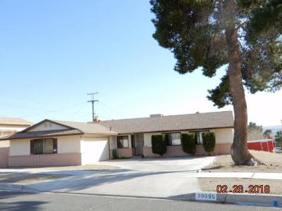 Barstow Single Family Home For Sale: 29695 Palermo Street
