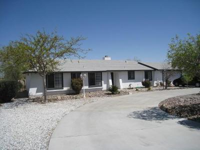 Victorville Single Family Home For Sale: 16296 Nisqualli Road