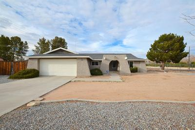 Apple Valley Single Family Home For Sale: 20084 Red Feather Road