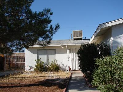 Barstow Single Family Home For Sale: 1549 Piute Street