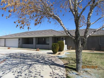 Apple Valley Single Family Home For Sale: 13311 Rincon Road